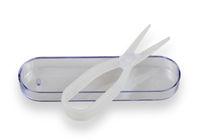 Kleštičky na kontaktní čočky - Transparentní s pouzdrem