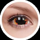 ColourVue Crazy čočky 17 mm - Blackhole Sun (2ks roční) - nedioptrické
