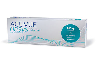 Acuvue Oasys 1-Day with HydraLuxe (30 čoček)