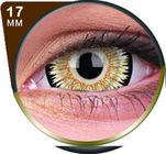 ColourVue Crazy čočky 17 mm - Orbitron (2 ks roční) - nedioptrické