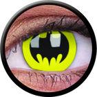 ColourVue Crazy čočky - Batman (2 ks roční) - nedioptrické