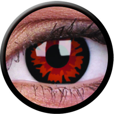 ColourVue Crazy čočky - Volturi(Demon) (2 ks roční) - nedioptrické
