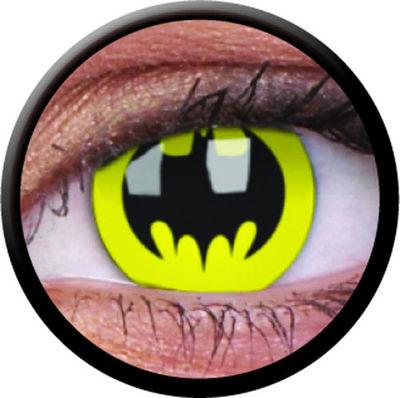 ColourVue CRAZY ČOČKY - Bat Crusader (Batman) (2 ks tříměsíční) - nedioptrické
