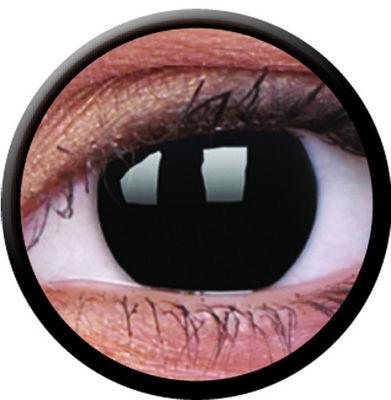 ColourVue CRAZY ČOČKY - Blackout (2 ks tříměsíční) - nedioptrické
