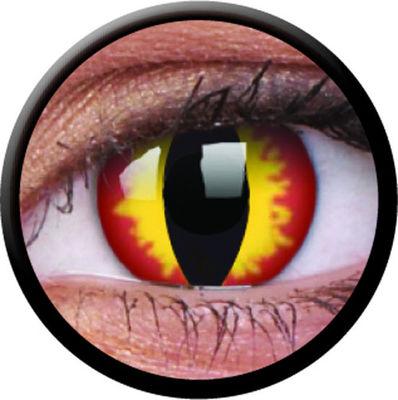 ColourVue CRAZY ČOČKY - Dragon Eyes (2 ks tříměsíční) - dioptrické