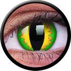 ColourVue CRAZY ČOČKY - Green Dragon (2 ks tříměsíční) - dioptrické