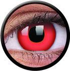 ColourVue Crazy čočky - Red Devil (2 ks jednodenní) - nedioptrické