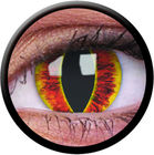 ColourVue Crazy čočky - Saurons Eye (2 ks roční) - nedioptrické