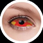 ColourVue Crazy čočky Sklerální - Kancer (2 půlroční čočky) - nedioptrické