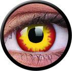 ColourVue Crazy čočky - Wildfire (2 ks roční) - nedioptrické