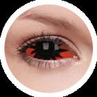 ColourVue Crazy čočky Sklerální - Omega Red (2 ks půlroční) - nedioptrické