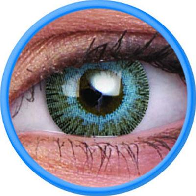 ColourVue Fusion - Grey Blue (2 čočky tříměsíční) - dioptrické
