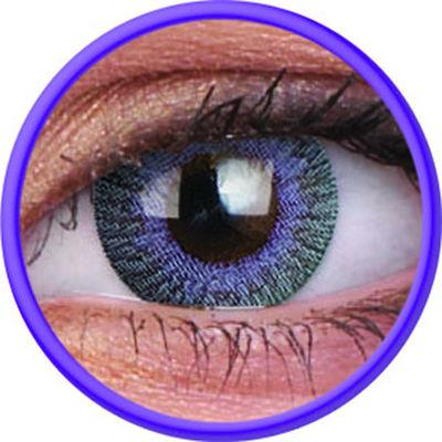 ColourVue Fusion - Grey Violet (2 čočky tříměsíční) - dioptrické