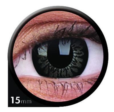 ColourVue Big Eyes - Awesome Black (2 čočky tříměsíční) - dioptrické