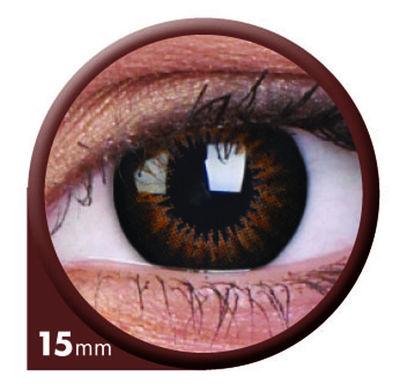 ColourVue Big Eyes - Sweet Honey (2 čočky tříměsíční) - dioptrické