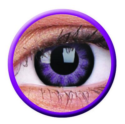 ColourVue Big Eyes - Ultra Violet (2 čočky tříměsíční) - nedioptrické