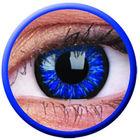 ColourVue Glamour - Blue (2 čočky tříměsíční) - nedioptrické
