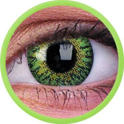 ColourVue Trublends One-Day - Green nedioptrické (10 čoček)