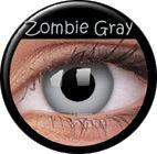 ColourVue CRAZY ČOČKY - Zombie Grey (2 ks tříměsíční) - dioptrické - doprodej