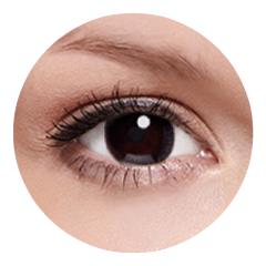 FreshKon Alluring Eyes - Mystical Black (2 čočky měsíční) - dioptrické