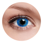 FreshKon Colors Fusion - Sky Blue (2 čočky měsíční) - dioptrické
