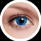 FreshKon Colors Fusion - Sky Blue (2 čočky měsíční) - nedioptrické