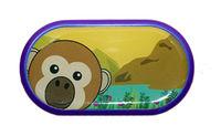 Ozdobné pouzdro se zrcátkem Zoo - Opice