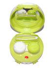 Vibrační pouzdro kulaté s nožičkami - Zelené