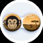 Anti-bakteriální pouzdro klasické - Afrika - Šimpanz
