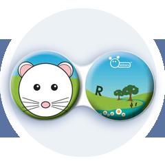 Anti-bakteriální pouzdro klasické - Farma - Myška