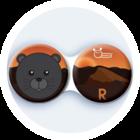 Anti-bakteriální pouzdro klasické - Indie - Medvěd černý
