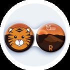 Anti-bakteriální pouzdro klasické - Indie - Tygr