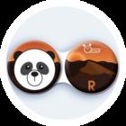 Anti-bakteriální pouzdro klasické - Indie - Panda