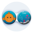 Anti-bakteriální pouzdro klasické - Moře - Ryba
