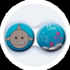 Anti-bakteriální pouzdro klasické - Moře - Žralok