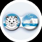 Anti-bakteriální pouzdro klasické - Sever - Leopard
