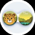 Anti-bakteriální pouzdro klasické - ZOO - Leopard