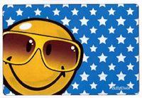 Hadřík na brýle z mikrovlákna Smiley - brýle