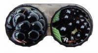 Klasické pouzdro motiv ovoce - Ostružiny