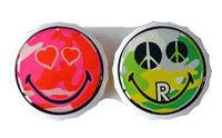 Klasické pouzdro motiv Smiley - Green Peace