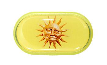 Pouzdro se zrcátkem Jednoobrázkové - Slunce
