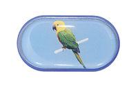 Pouzdro se zrcátkem Jednoobrázkové - Papoušek