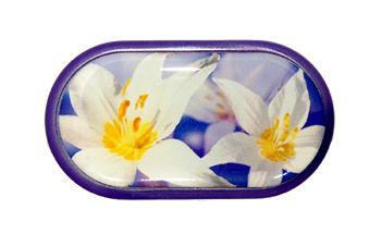 Pouzdro se zrcátkem motiv květy - Ocun
