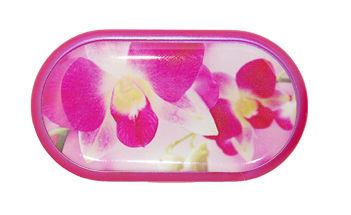 Pouzdro se zrcátkem motiv květy - Dendrobium