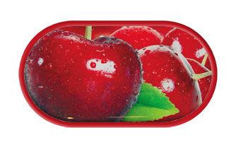 Pouzdro se zrcátkem motiv Ovoce - Třešně