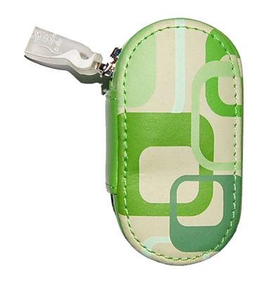 Kožené pouzdro s potiskem - Zelené