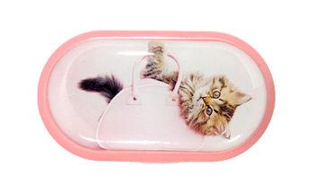 Pouzdro se zrcátkem motiv kočky a psi - Kotě v tašce