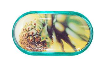 Pouzdro se zrcátkem motiv Léto - Ananas