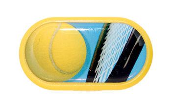 Pouzdro se zrcátkem motiv Sport - Tenis