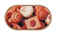 Pouzdro se zrcátkem Cukrovinky - Čokoláda